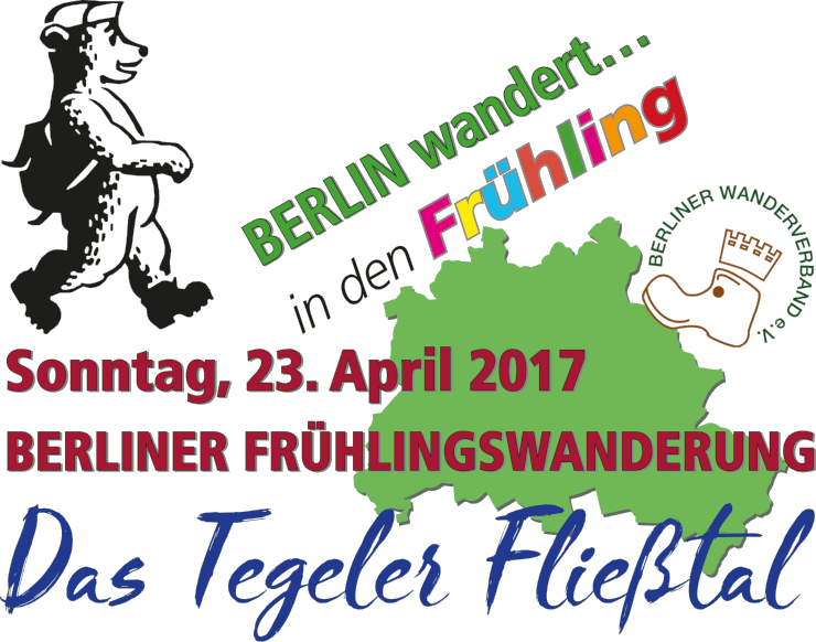 Berliner Frühlingswanderung 2017