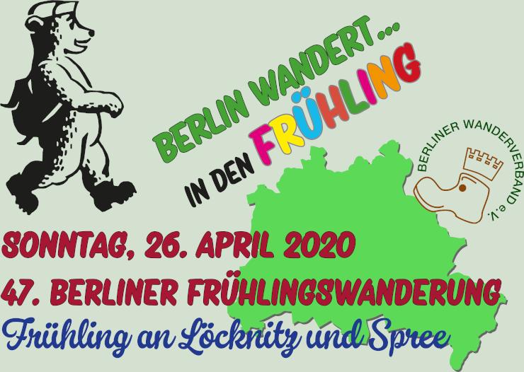 Berliner Frühlingswanderung
